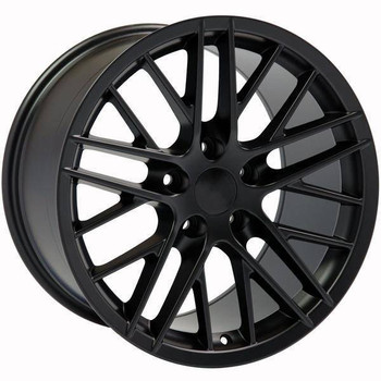 "19"" Chevy Corvette  replica wheel 2005-2013 Black rims 9453141"