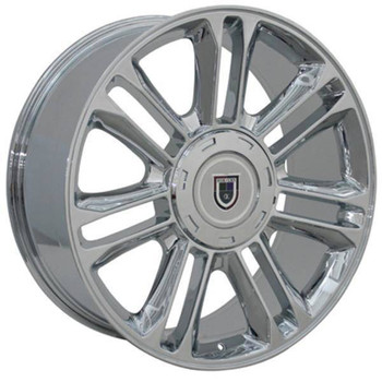 "22"" Cadillac escalade replica wheel 1999-2019 Chrome rims 8579275"