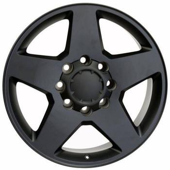 "20"" GMC Sierra 2500 3500 replica wheel 2011-2018 Matte Black rims 9482438"