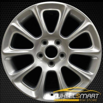 "17"" Dodge Dart oem wheel 2013-2016 Silver alloy stock rim 2482"