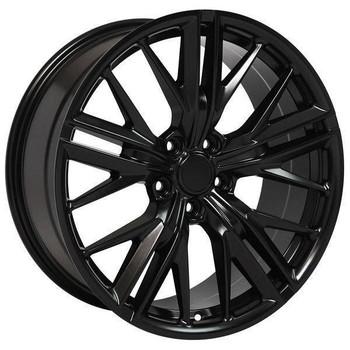 "20"" Chevy Camaro  replica wheel 2010-2018 Satin Black rims 9506892"