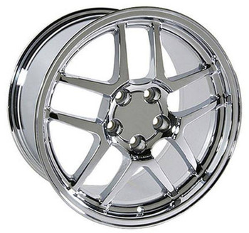 "17"" Pontiac Firebird replica wheel 1993-2002 Chrome rims 4750613"