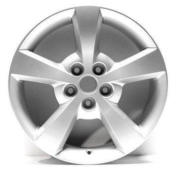 "17"" Malibu 2008 replica wheel Silver finish replacement for rim 5334"