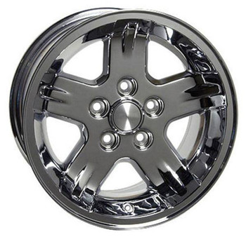 "15"" Jeep Wrangler replica wheel 1987-2006 Chrome rims 4750873"