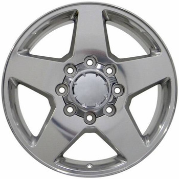 "20"" Chevy Silverado 2500 3500 replica wheel 1999-2010 Polished rims 9451929"