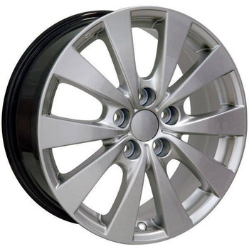 "17"" Toyota Sienna replica wheel 1998-2018 Hypersilver rims 9489834"