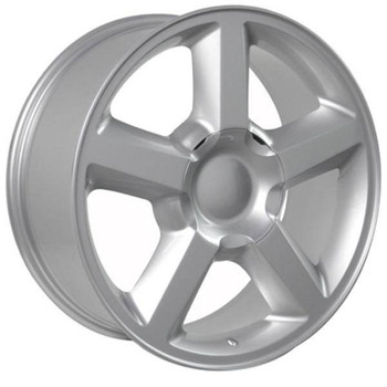 "20"" Chevy C2500 replica wheel 1988-2000 Silver rims 7154608"