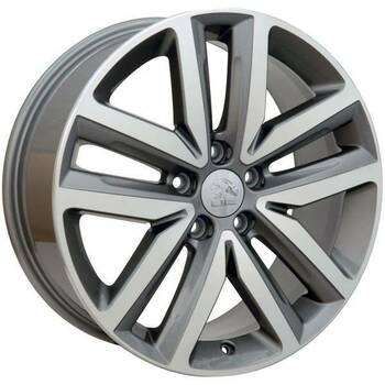 "18"" Volkswagen VW GTI replica wheel 2006-2018 Machined Gunmetal rims 9490044"