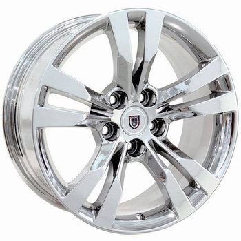 "18"" Cadillac CTS replica wheel 2014-2018 Chrome rims 9506453"