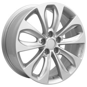 """18"""" Hyundai Azera replica wheel 2006-2018 Silver rims 9457433"""