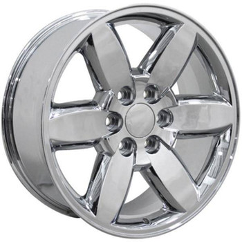 "20"" Chrome Replica Rims for GMC Sierra. Replacement Rims 9469785"