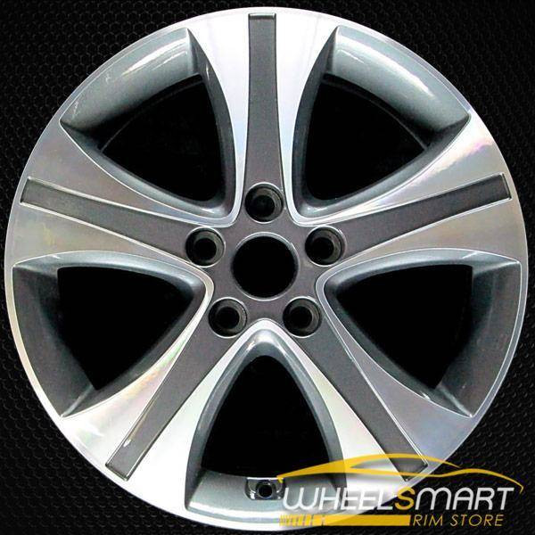 "17"" Hyundai Elantra oem wheel 2013-2016 Machined alloy stock rim ALY70836U30"