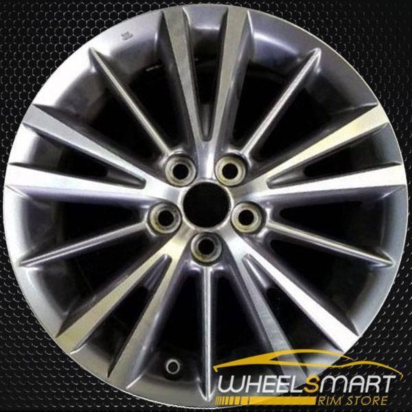 "16"" Toyota Corolla oem wheel 2014-2017 Machined alloy stock rim ALY75150U30"