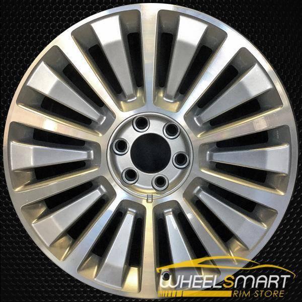 """22"""" Lincoln Navigator oem wheel 2015-2017 Silver slloy stock rim ALY10026U20"""