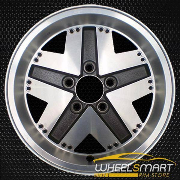 "15"" Ford Bronco oem wheel 1983-1990 Machined slloy stock rim ALY01311U10"