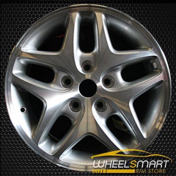 "16"" Dodge Intrepid oem wheel 2001-2004 Machined slloy stock rim ALY02135U10"