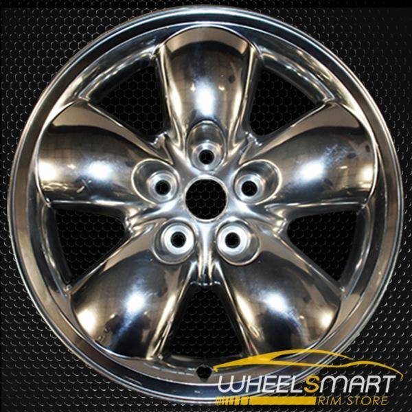 "20"" Dodge Ram 1500 oem wheel 2002-2005 Polished alloy stock rim ALY02167A80"