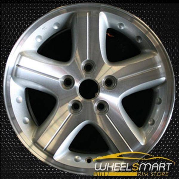 "16"" Dodge Intrepid oem wheel 2002-2004 Machined slloy stock rim ALY02172U20"
