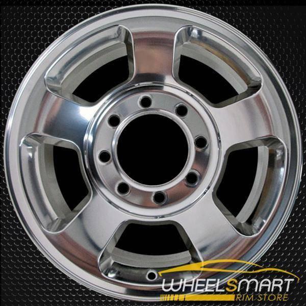 "17"" Dodge Ram 2500 3500 oem wheel 2005-2009 Polished alloy stock rim ALY02187B80"