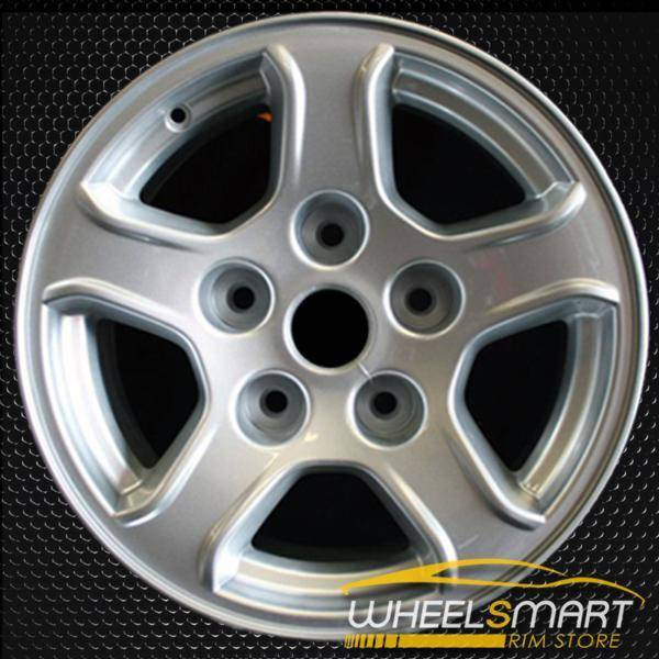 "16"" Dodge Dakota OEM wheel 2005-2007 Silver alloy stock rim ALY02239A20"