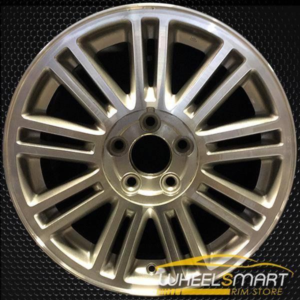 "17"" Chrysler Sebring oem wheel 2007-2009 Machined slloy stock rim ALY02284U10"
