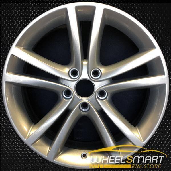 """18"""" Dodge Avenger oem wheel 2011-2014 Hypersilver slloy stock rim ALY02404U77"""