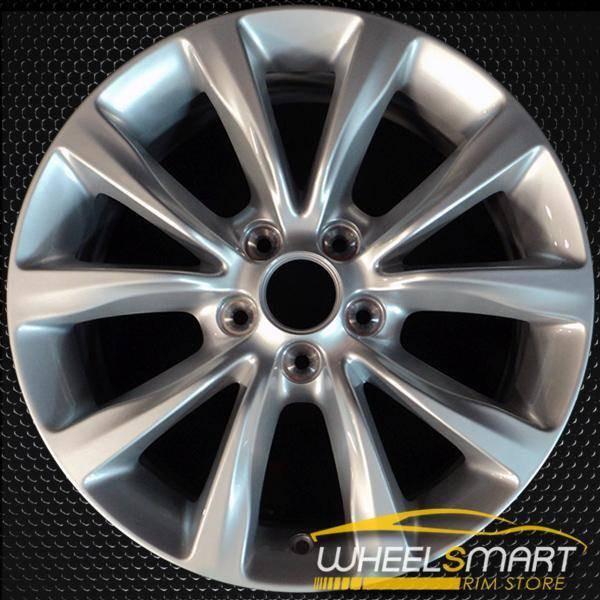 "17"" Chrysler 200 oem wheel 2015-2017 Hypersilver slloy stock rim ALY02513U77"