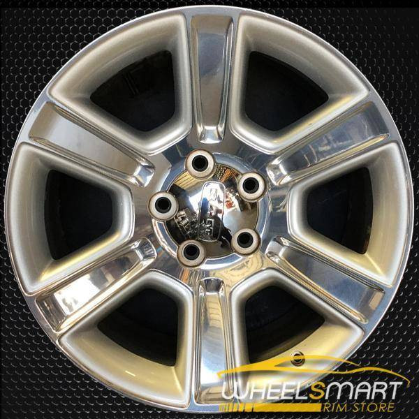 "20"" Dodge Ram 1500 oem wheel 2016-2018 Polished alloy stock rim ALY02561U80"