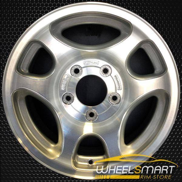 "16"" Ford F150 oem wheel 1997-1998 Machined slloy stock rim ALY03192U10"