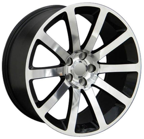 "20"" Dodge Challenger replica wheel 2009-2018 Polished rims 8700752"