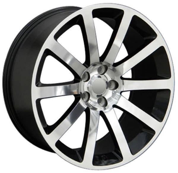 "20"" Dodge Challenger replica wheel 2009-2018 Polished rims 8700752"