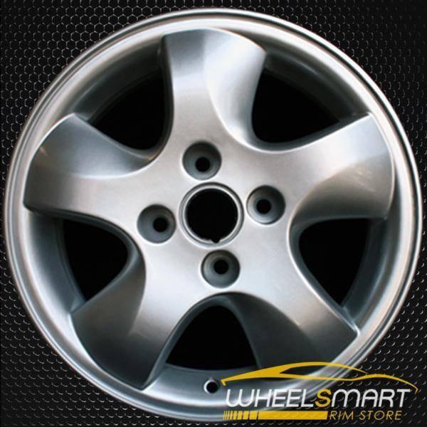 """15"""" Mercury Cougar oem wheel 1999-2002 Silver slloy stock rim ALY03301U20"""