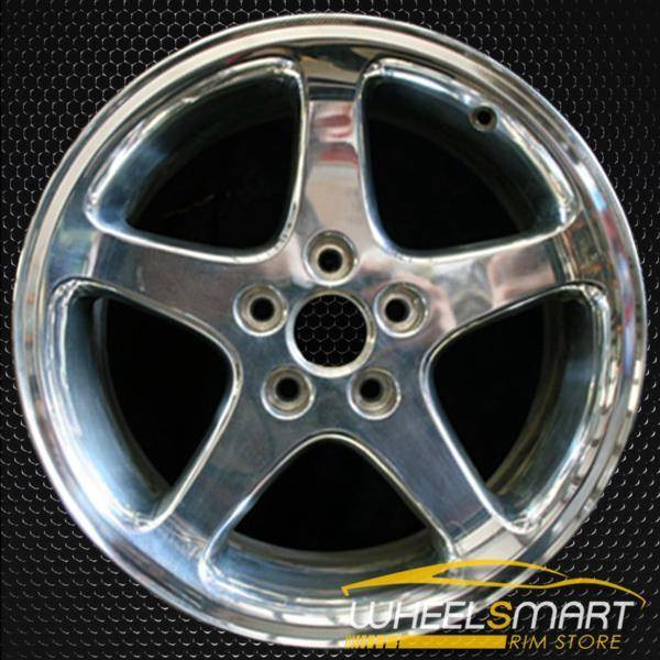 "17"" Ford Mustang oem wheel 1999-2001 Polished slloy stock rim ALY03306U80"