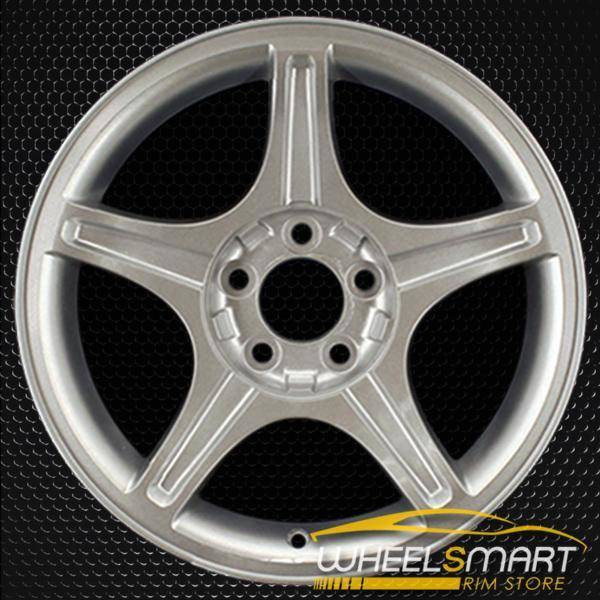 """17"""" Ford Mustang oem wheel 1999-2004 Silver slloy stock rim ALY03307A20"""