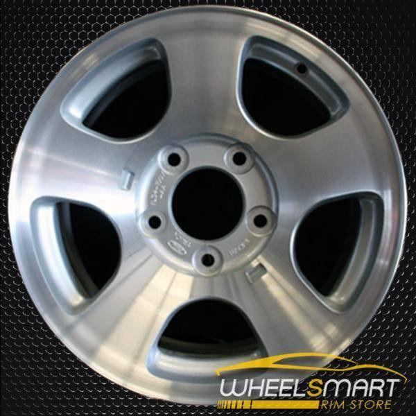 "16"" Ford F150 oem wheel 1999-2000 Machined slloy stock rim ALY03347U10"