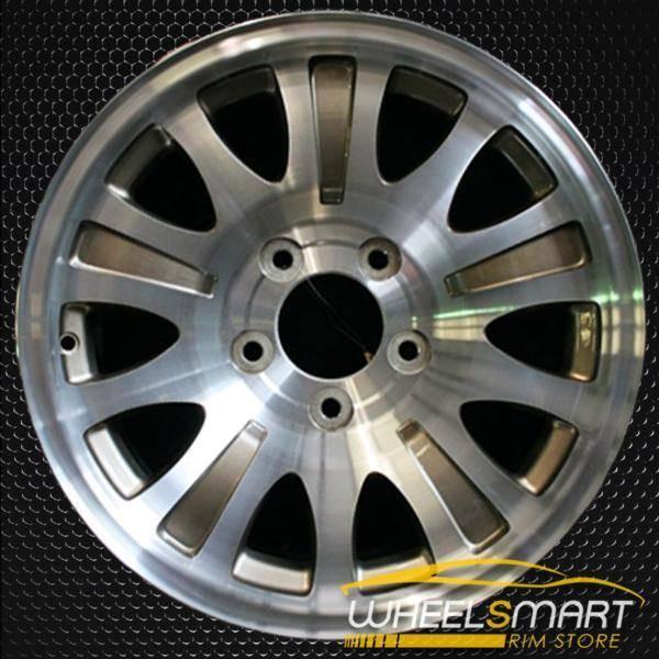 "17"" Ford F150 oem wheel 2000 Machined slloy stock rim ALY03396U10"
