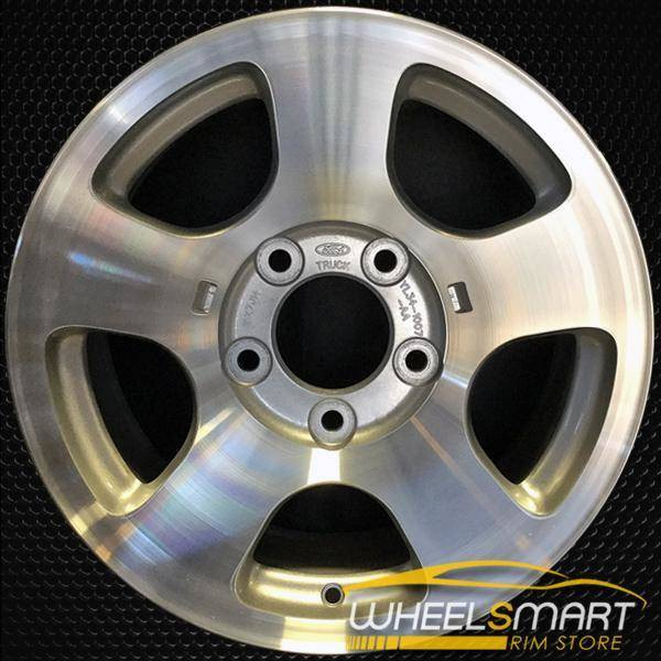 "16"" Ford F150 oem wheel 2000-2004 Machined slloy stock rim ALY03400U10"