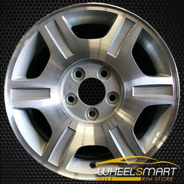 "16"" Mercury Mountaineer oem wheel 2002-2003 Machined slloy stock rim ALY03456A10"