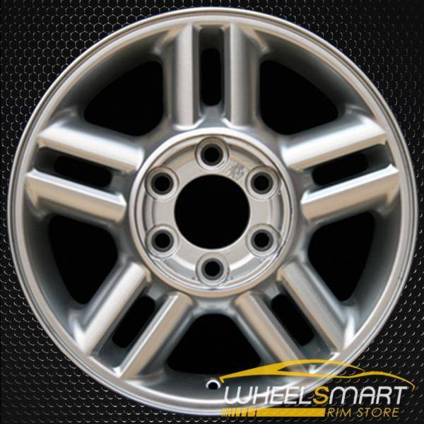 "17"" Ford Expedition oem wheel 2003-2006 Silver slloy stock rim ALY03517U20"