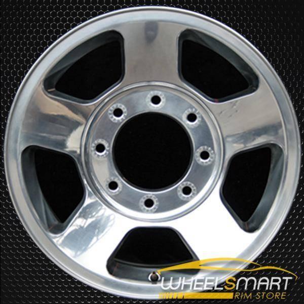 """17"""" Ford F250 F350 oem wheel 2005-2007 Polished alloy stock rim ALY03598U80"""