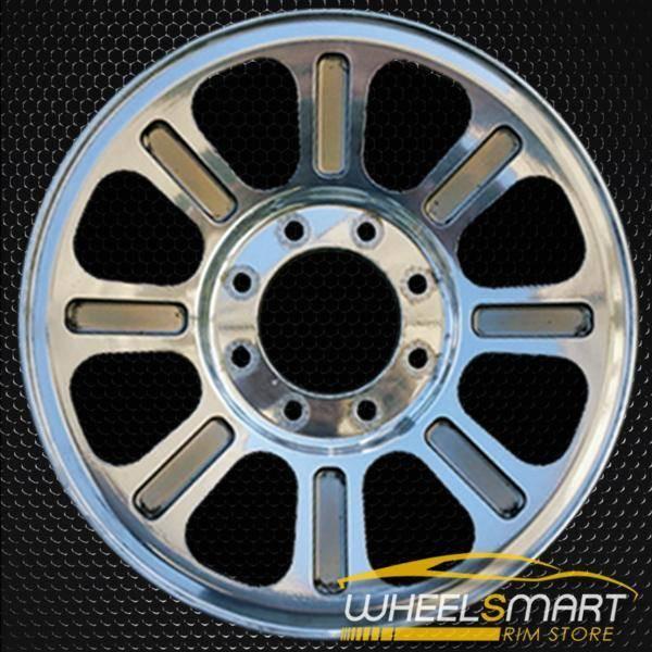 """18"""" Ford F250 F350 oem wheel 2005-2010 Polished alloy stock rim ALY03604U80"""