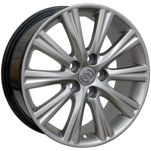 "17"" Toyota Sienna replica wheel 1998-2018 Hypersilver rims 9489833"