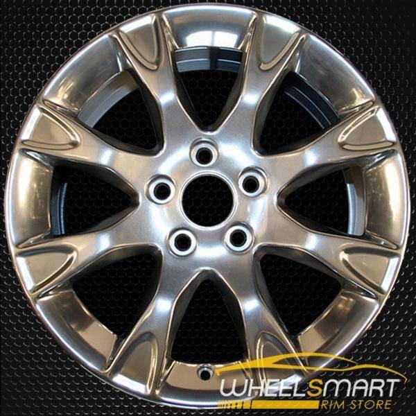 "17"" Ford Fusion oem wheel 2011-2012 Polished slloy stock rim ALY03856U80"