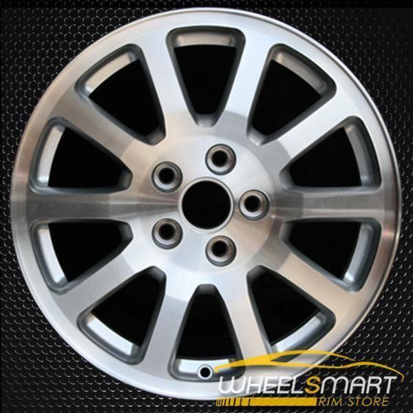 "17"" Buick Terraza oem wheel 2006-2007 Machined slloy stock rim ALY04011U10"