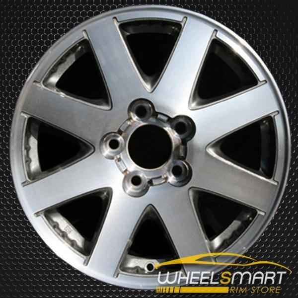 "16"" Buick Rendezvous oem wheel 2002-2004 Machined slloy stock rim ALY04044U20"