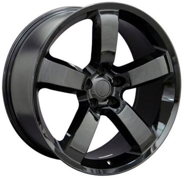 "20"" Dodge Challenger replica wheel 2009-2018 Black rims 9360888"