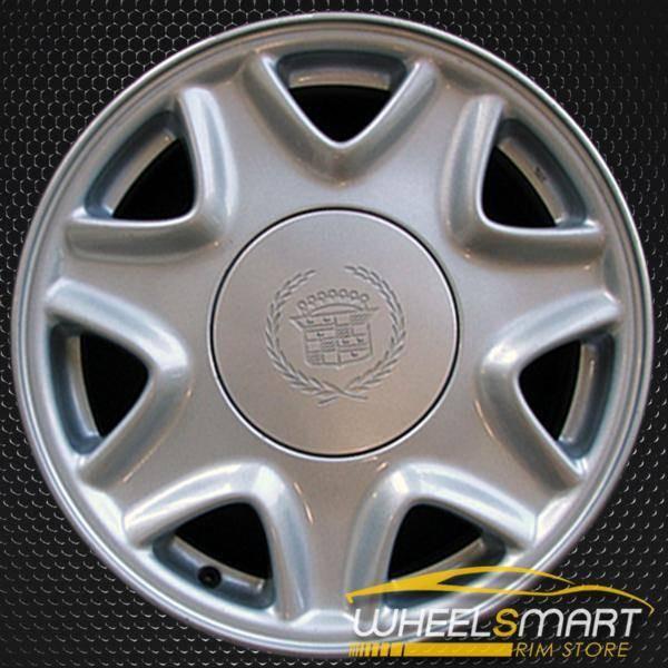 """16"""" Cadillac El Dorado oem wheel 1995-2002 Silver alloy stock rim ALY04522U10"""