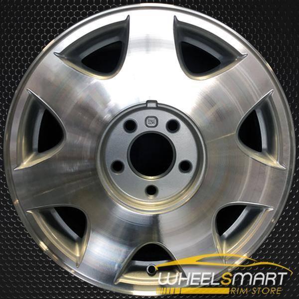 """16"""" Cadillac Seville oem wheel 1998-2000 Machined slloy stock rim ALY04536U10"""