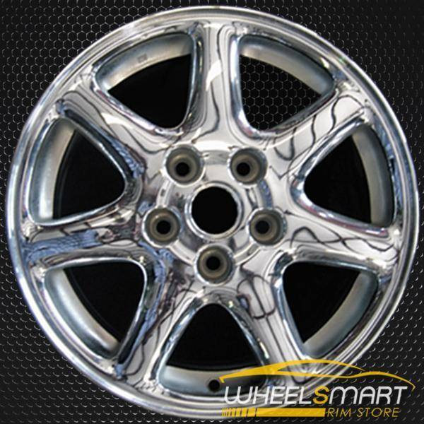 "16"" Cadillac Seville oem wheel 1998-2004 Machined slloy stock rim ALY04539U85"