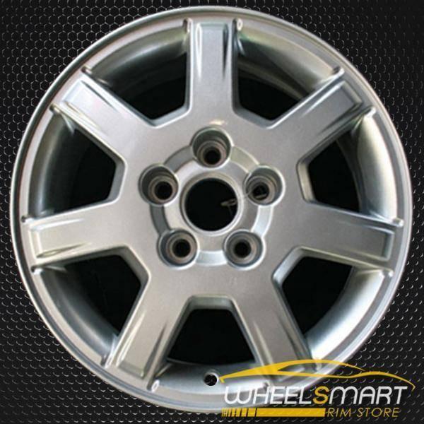 """16"""" Cadillac CTS oem wheel 2005-2007 Silver slloy stock rim ALY04554U20"""